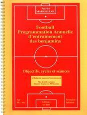Football ; programmation annuelle d'entrainement des benjamins - Intérieur - Format classique