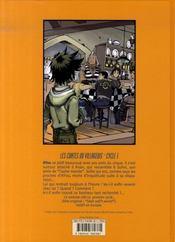 Un monde idéal t.5 ; la porte - 4ème de couverture - Format classique