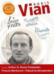 Boris Vian ; coffret - Couverture - Format classique
