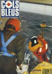 COLS BLEUS. HEBDOMADAIRE DE LA MARINE ET DES ARSENAUX N°2154 DU 18 JANVIER 1992. LA PISCICULTURE EN EAU DE MER PREND LE LARGE ! par J.P. PEYRONNET / LA RIEUSE ET LA BOUDEUSE A ZANZIBAR par LE CAP. DE CORVETTE BARA / ESCAPADE EN GUINEE BISSAU par L'ICETTM - Couverture - Format classique