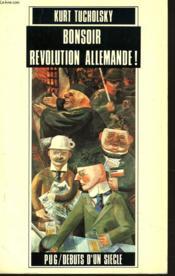 Bonsoir Revolution Allemande ! - Couverture - Format classique