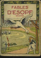 FABLES D'ESOPE. 2e SERIE. - Couverture - Format classique