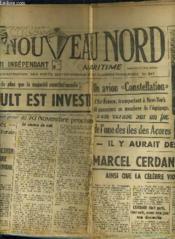 Le Nouveau Nord Maritime N°925 - 5eme Annee - Samedi 29 Octobre 1949. - Couverture - Format classique