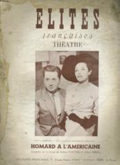 Elites Francaises Theatre - Couverture - Format classique