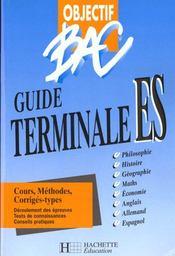 Objectif Bac Terminale Es - Intérieur - Format classique