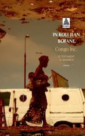 Congo Inc. ; le testament de Bismarck - Couverture - Format classique