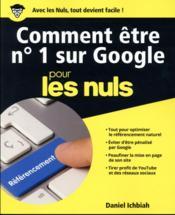 Comment être n°1 sur Google pour les nuls - Couverture - Format classique