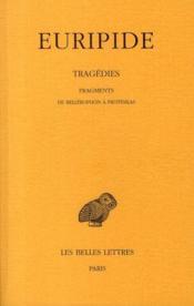 Tragedies T8 2e Partie - Couverture - Format classique
