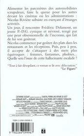 Affaire De Gout - 4ème de couverture - Format classique