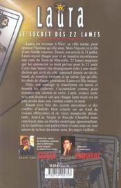 Laura ou le secret des 22 lames - 4ème de couverture - Format classique