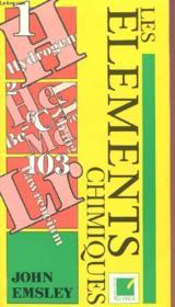 Les Elements Chimiques - Couverture - Format classique