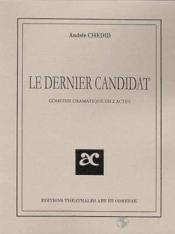 Le dernier candidat - Couverture - Format classique