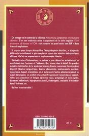Maladies Et Symptomes En Medecine Chinoise Volume 6 - 4ème de couverture - Format classique