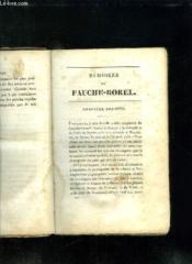 Memoires De Fauche Borel Tome 1. - Couverture - Format classique