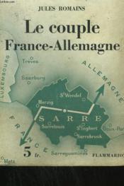 Le Couple France-Allemagne. - Couverture - Format classique