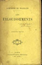 Les Eblouissements. - Couverture - Format classique
