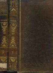 Aventures De Robinson Crusoe Tome I Et Ii. - Couverture - Format classique
