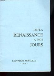 Catalogue. Choix De Livres Anciens, Rares Et Curieux. De La Renaissance A Nos Jours - Couverture - Format classique