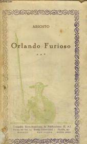Orlando Furioso, Volumen Iii - Couverture - Format classique