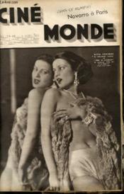 CINEMONDE - 6e ANNEE - N° 233 - NAVARRO A PARIS - LADY CHATTERLEY - LE CINEMA EN INDOCHINE - DICKIE MOORE... - Couverture - Format classique