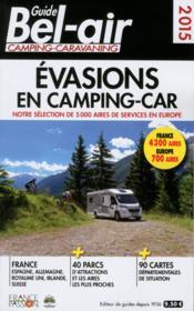 Guide Bel-air évasion en camping-car (édition 2015) - Couverture - Format classique