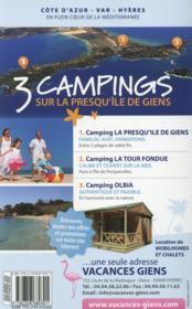Guide Bel-air évasion en camping-car (édition 2015) - 4ème de couverture - Format classique