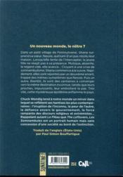 Les somnambules - 4ème de couverture - Format classique