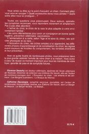 L'Encyclopedie Familiale Du Chien - 4ème de couverture - Format classique