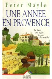 Une Annee En Provence - Couverture - Format classique