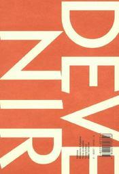 Devenir T.13 - 4ème de couverture - Format classique