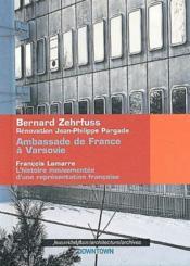 Ambassade de France à Varsovie - Couverture - Format classique