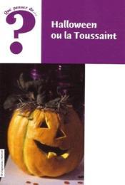 Halloween ou la Toussaint - Couverture - Format classique