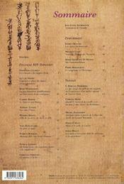Quarto - numero 69 le sujet et son maitre - 4ème de couverture - Format classique