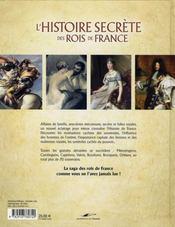 Rois et Reines de France ; l'histoire secrète - 4ème de couverture - Format classique