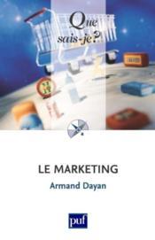 Le marketing (3e édition) - Couverture - Format classique