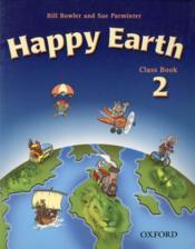Happy earth class book 2 - Couverture - Format classique