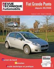 RTA b704.5 Fiat Grande Punto 1.4 8v + 1.3 JTD 75/90 - Couverture - Format classique