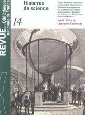 REVUE BNF T.14 ; histoires de science - Intérieur - Format classique