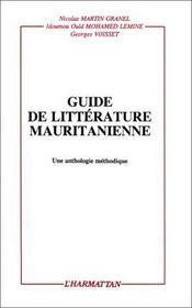 Guide de littérature mauritanienne - Intérieur - Format classique