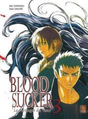Bloodsucker T.3 - Couverture - Format classique