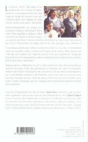 Soeur emmanuelle, la chiffonniere du ciel - 4ème de couverture - Format classique