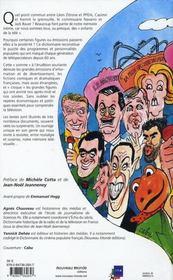 Dictionnaire de la télévision française - 4ème de couverture - Format classique