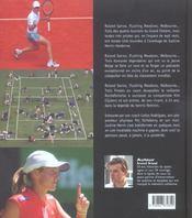 Justine henin jeu, set et fin de matches - 4ème de couverture - Format classique