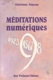 Meditations Numeriques - Couverture - Format classique