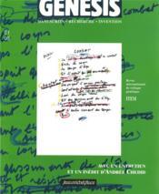 Genesis N.21 ; Manuscrits, Recherche, Invention - Couverture - Format classique