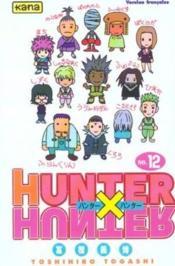 Hunter X Hunter T12 - Couverture - Format classique