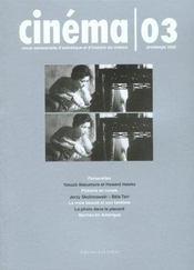 Cinema 03 - printemps 2002 - Intérieur - Format classique