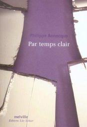 Par Temps Clair - Intérieur - Format classique