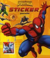 Spiderman sticker parade - Couverture - Format classique
