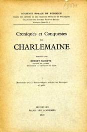 Croniques et conquestes de Charlemaine . - Couverture - Format classique